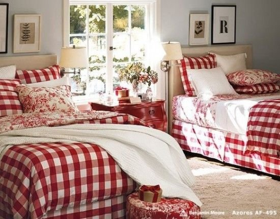 Best Bedrooms Red Christmas Red And White Pinterest With Pictures