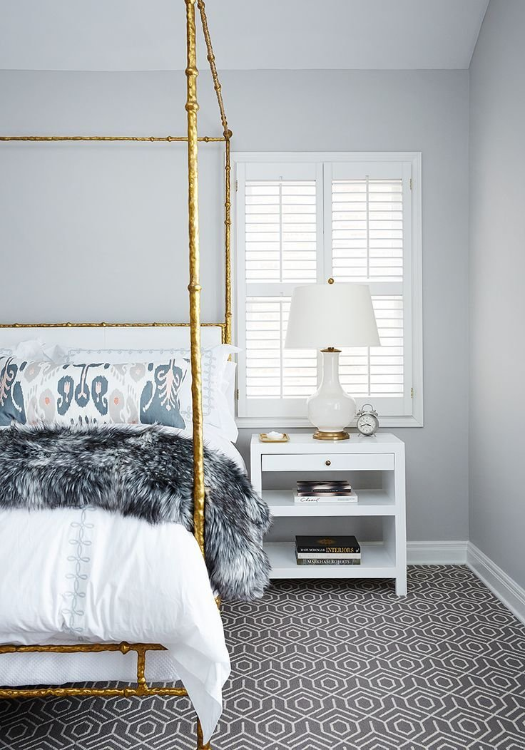 Best Printed Pillows And Gold Bamboo Four Poster Bed For The With Pictures