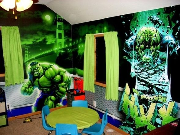 Best Hulk Bedroom Decor Theme Ideas Children S Bedroom Ideas With Pictures