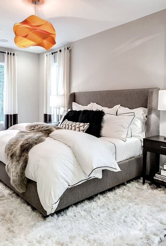 Best 17 Best Ideas About Grey Orange Bedroom On Pinterest With Pictures
