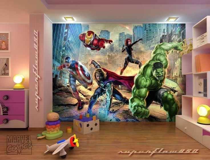 Best Avengers Mural With Pictures