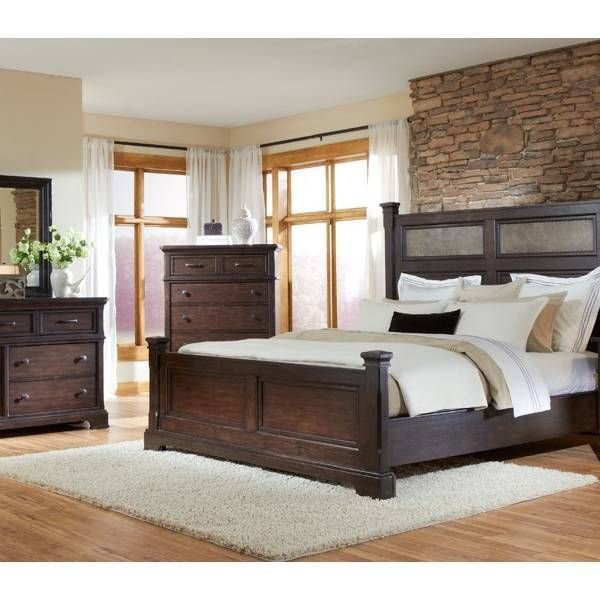 Best Crystal Ridge Panel King Bedroom Group Emerald Star With Pictures