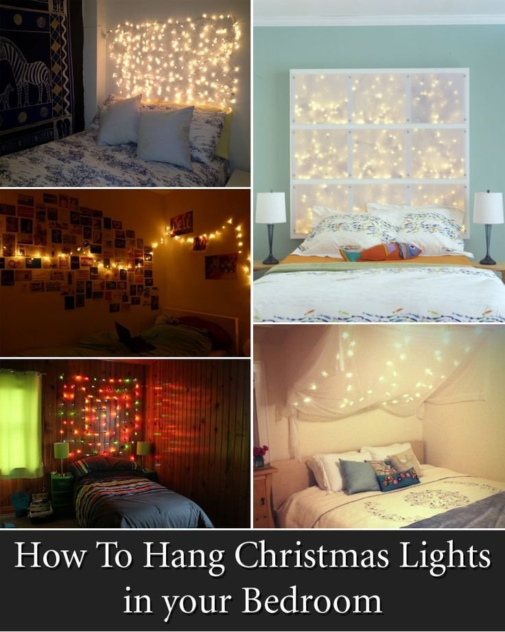 Best 1000 Ideas About Christmas Lights Bedroom On Pinterest With Pictures
