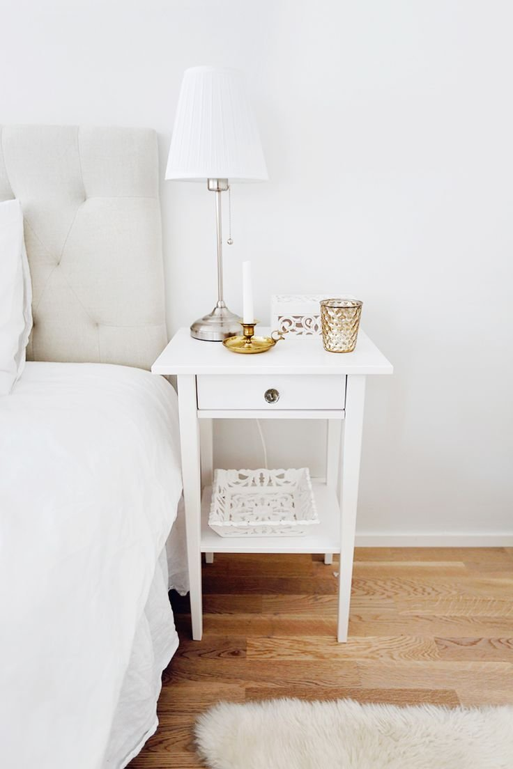 Best Ikea S Hemnes Night Stand With Crystal Knobs From Zara With Pictures