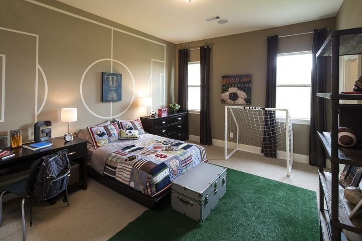 Best Creative Soccer Themed Bedroom Sandhaven Bordeaux With Pictures