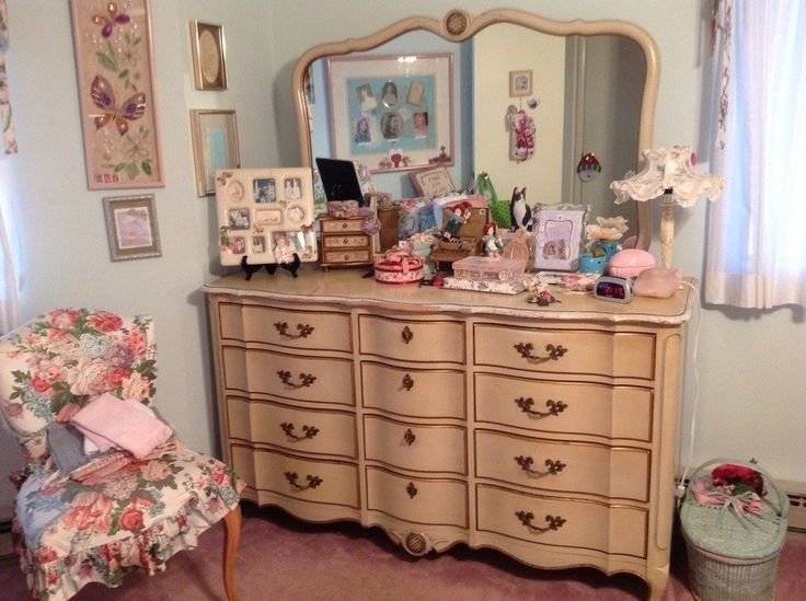 Best Sears 1978 Dixie White French Provincial Canopy Bed 1970 With Pictures