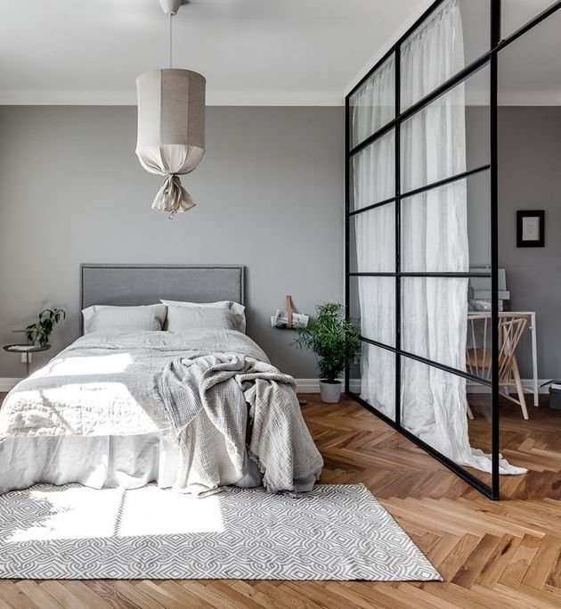 Best Grey Home With A Glass Partition Via Cocolapinedesign With Pictures
