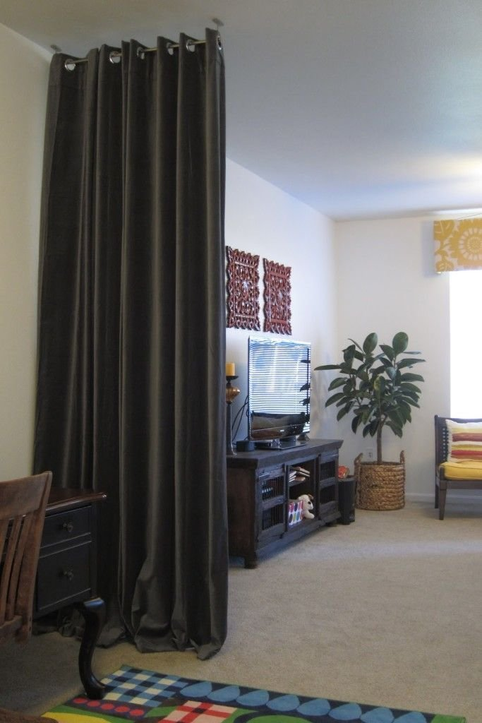 Best Dark Curtain Room Dividers Home Renovations Pinterest With Pictures