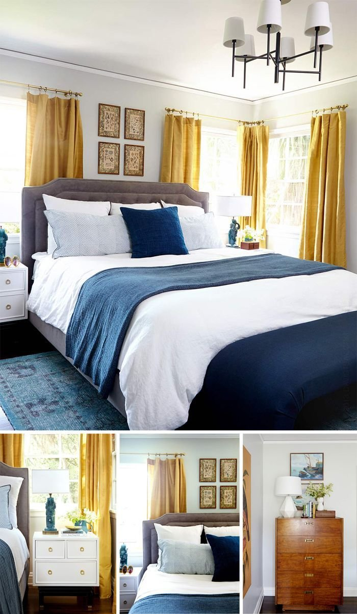 Best 25 Navy Yellow Bedrooms Ideas On Pinterest With Pictures
