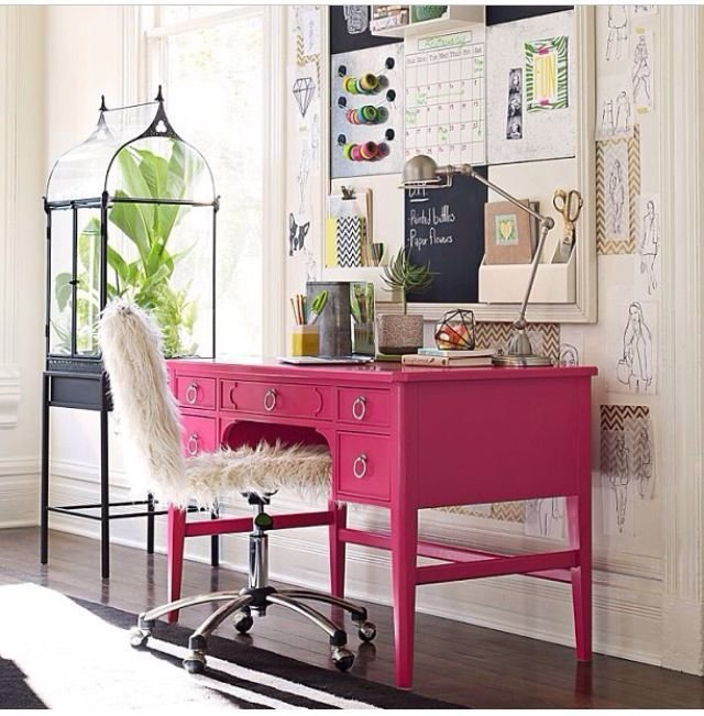 Best T**N Bedroom Desk Space Interior Decor Decor Pinterest With Pictures