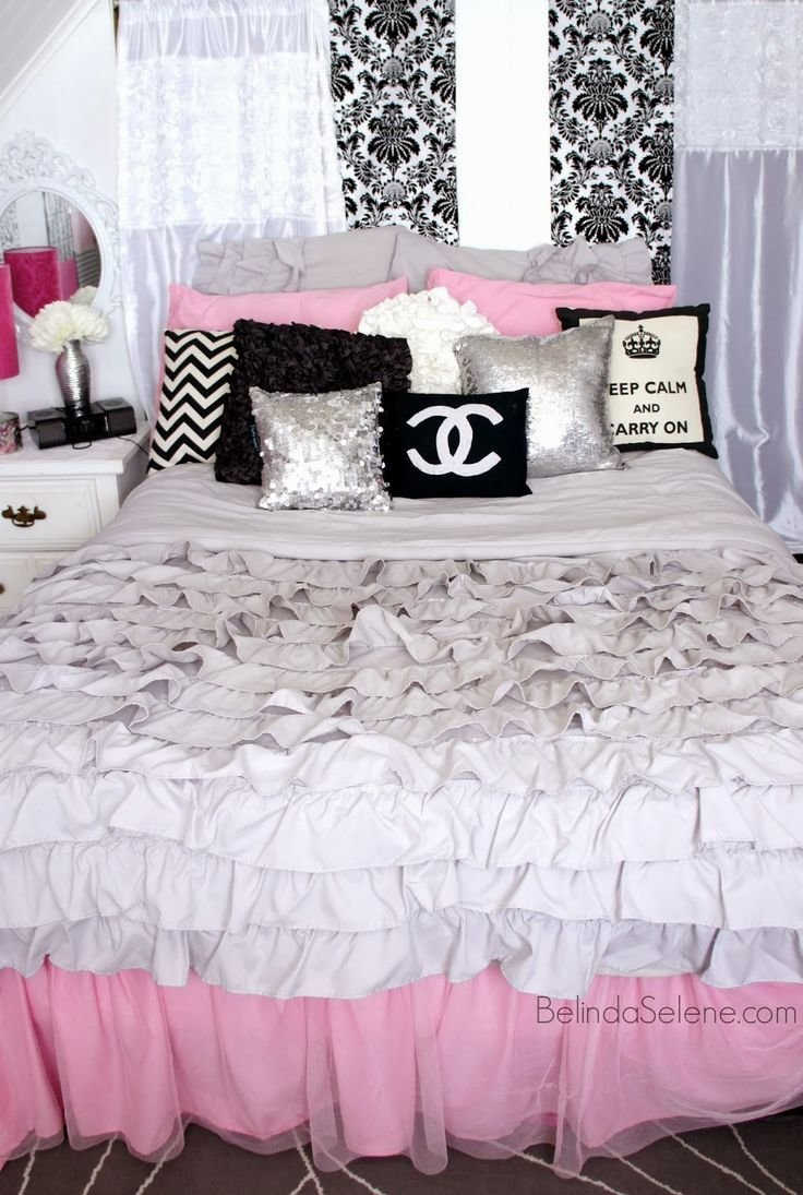 Best 17 Best Ideas About Pink Black Bedrooms On Pinterest With Pictures