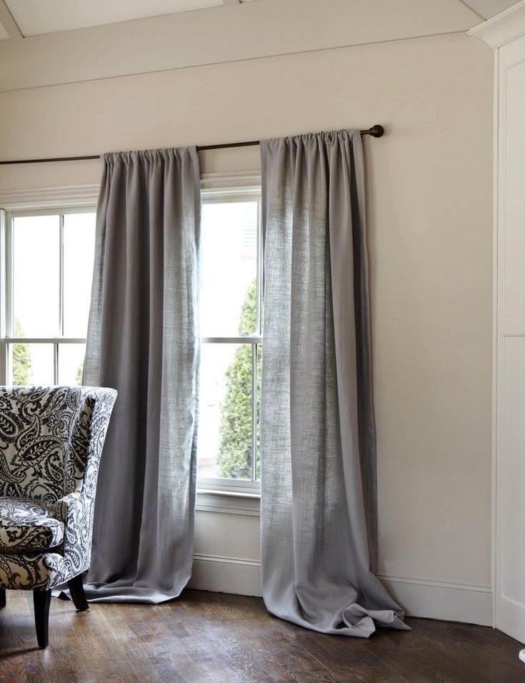 Best Gray Linen Curtains Gray Pinterest The Floor Grey With Pictures