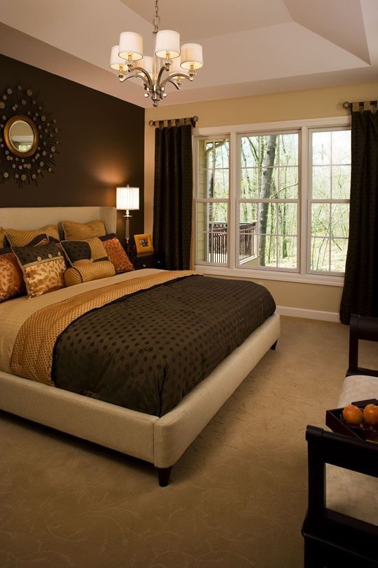 Best Master Bedroom The Dark Wall Serves As A Great Focal With Pictures