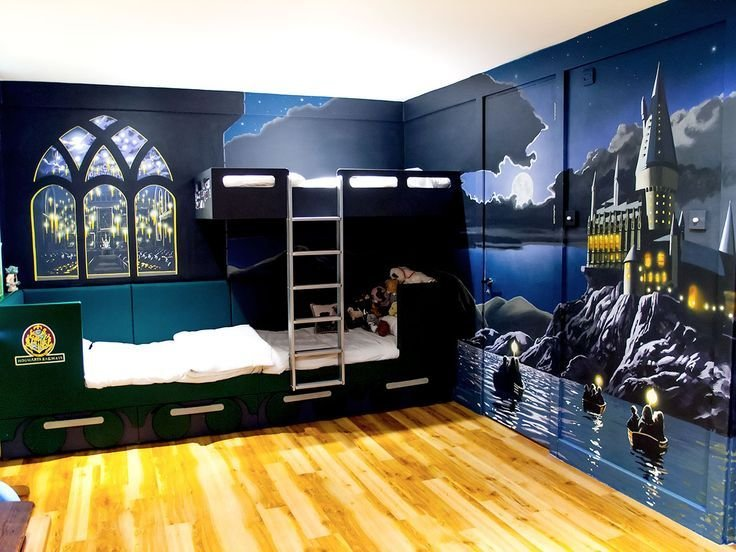 Best Harry Potter Painted Furniture Harry Potter Mural Harry Potter Mischief Managed With Pictures