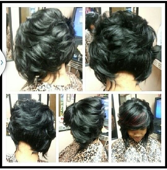 Free Best Image Of African American Feathered Bob Hairstyles Wallpaper