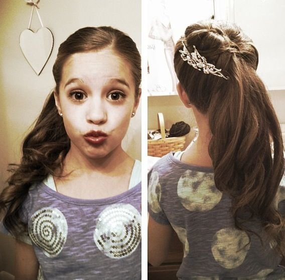 Free Kenzie Her Cute Hairstyle Dance Moms Pinterest Wallpaper