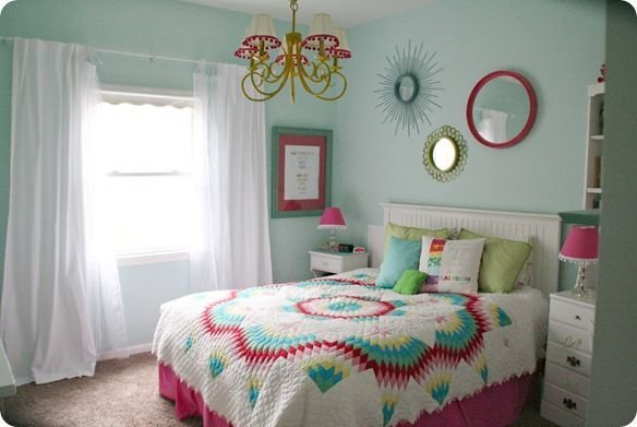 Best Colorful T**N Girls Bedroom Paint Colors Girls And Sea With Pictures