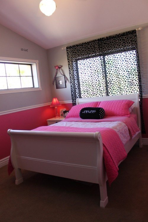 Best Two Tone With Chair Rail For Girls Room Trinity S With Pictures