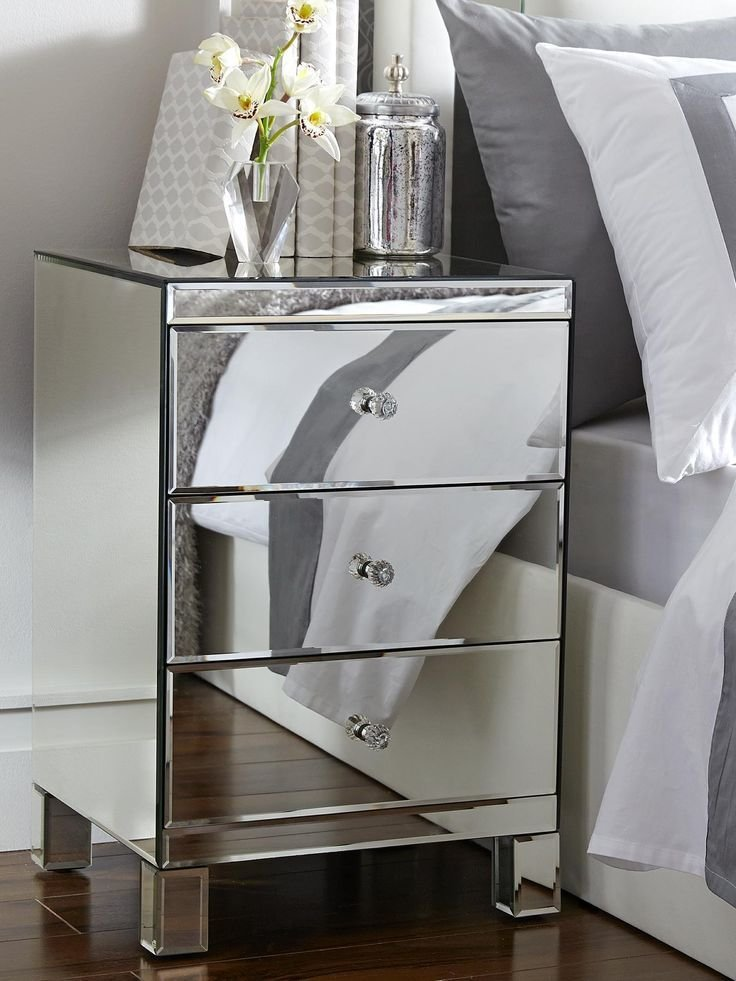 Best 1000 Ideas About Mirrored Bedside Cabinets On Pinterest With Pictures