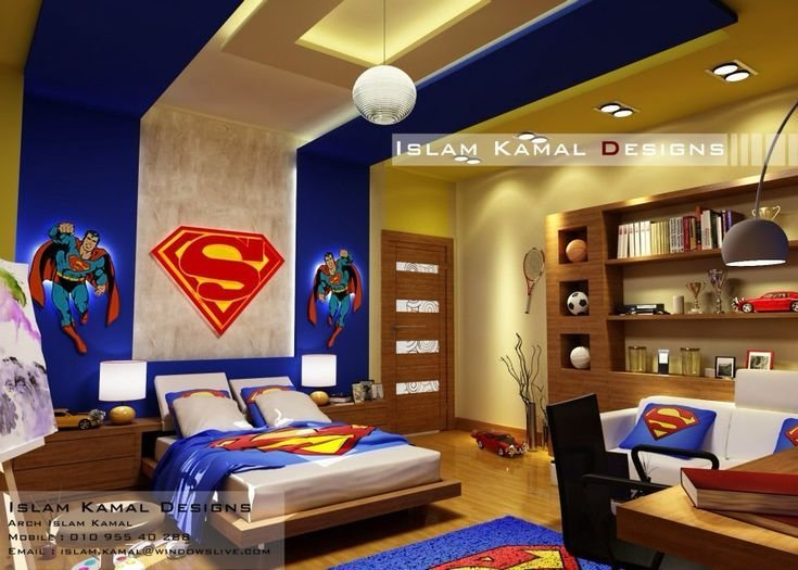 Best Boy Room For Pre Teens 5 12Yrs To Call All Super Hero's With Pictures Original 1024 x 768