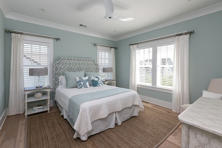 Best Serene Coastal Bedroom Mahshie Custom Homes Beautiful With Pictures