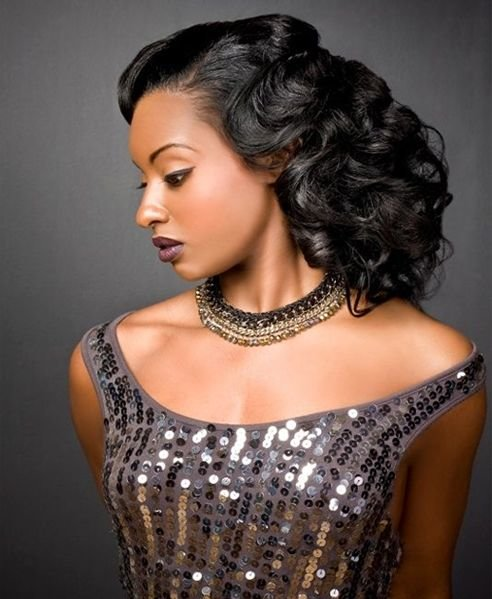 Free Prom Curly Hairstyles For African Americans African Wallpaper