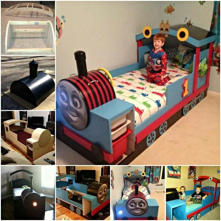 Best Diy Thomas Bed Kids Bedroom Ideas Pinterest Beds And With Pictures