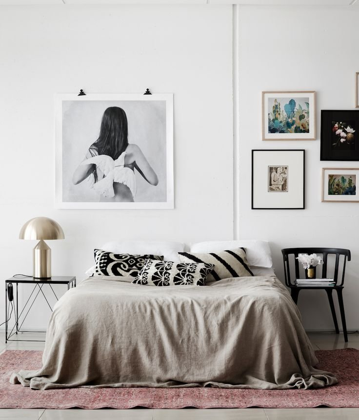 Best 17 Best Ideas About Bed Without Headboard On Pinterest With Pictures