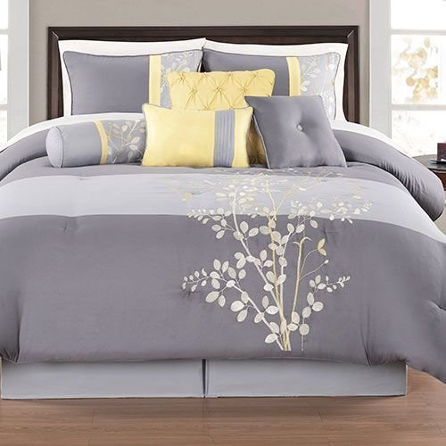 Best 20 Yellow And Gray Bedding Ideas On Pinterest Gray With Pictures
