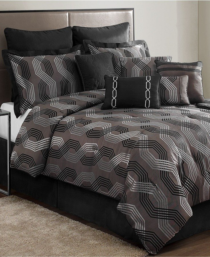 Best Marquee 12 Piece Comforter Sets Black Friday Specials Bed Bath Macy S Bedding With Pictures