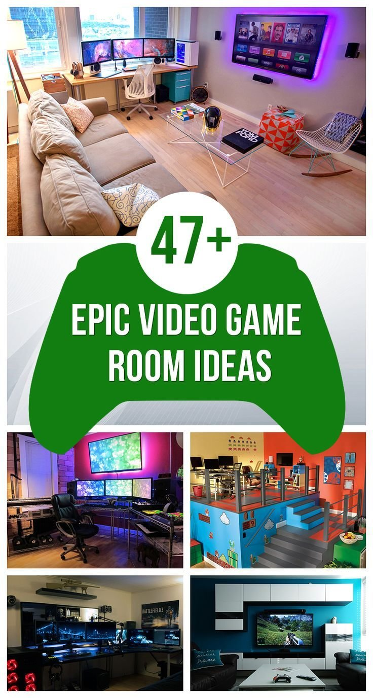 Best 25 Gaming Rooms Ideas On Pinterest With Pictures