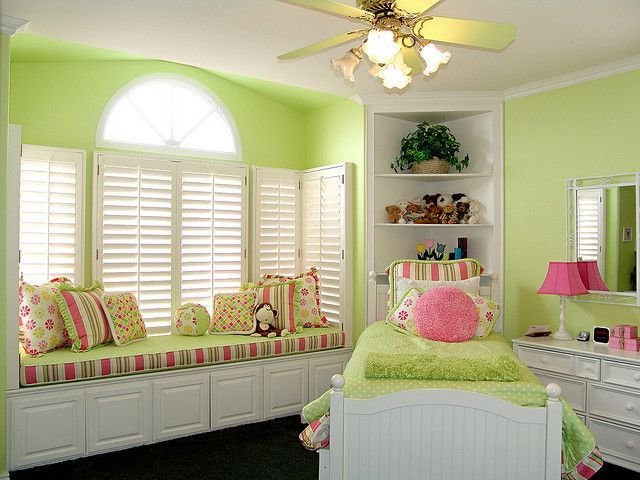 Best Green And Pink Bedroom My Daughter Wants A Green Room This One Looks Good To Me Kids With Pictures