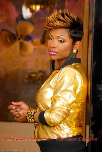 Free Kandi Burruss Love Her Spiked Hair Keeping Up With Wallpaper