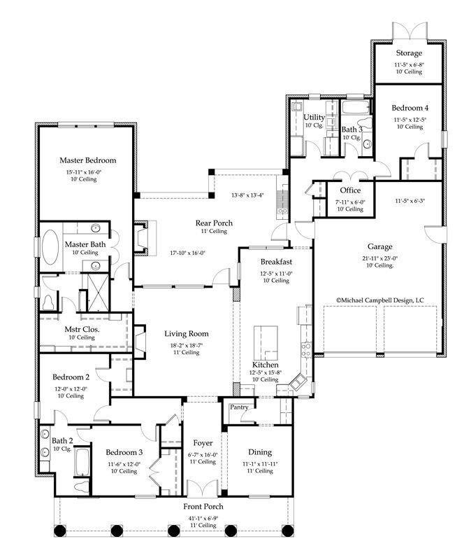 Best House Plan 2776 Square Feet 4 Bedroom 3 Bath Louisiana Home Design Would Cost Approx With Pictures