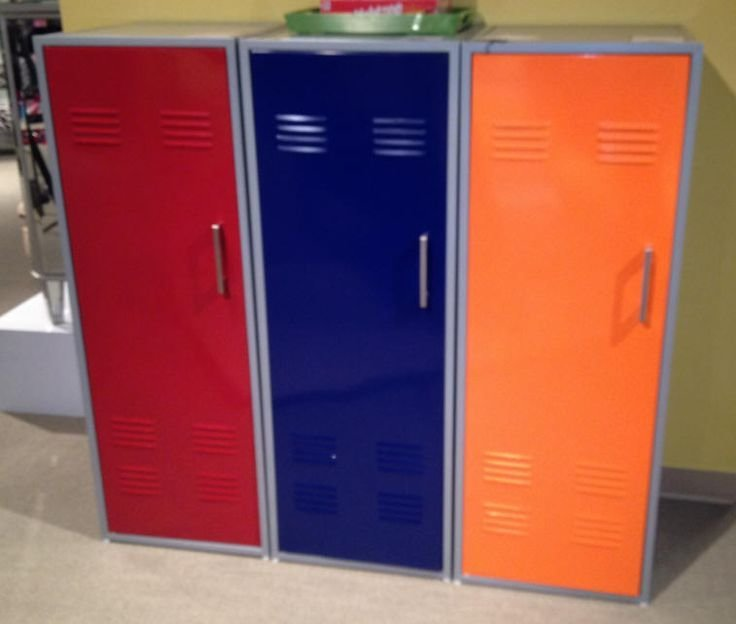 Best Chic Kids' Lockers For Kids Room Colorful Locker Storage With Pictures