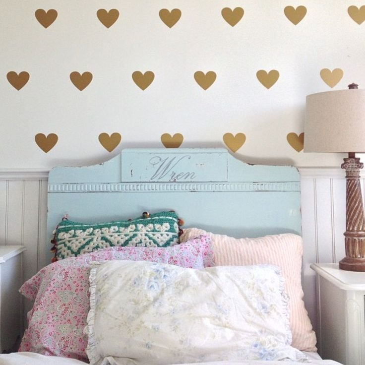 Best Heart Wallpaper For Girly Bedroom Room Ideas With Pictures