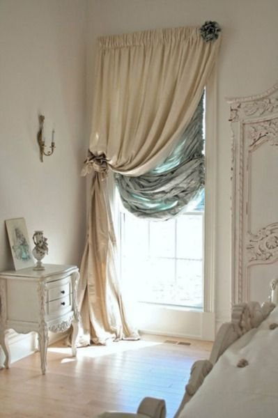 Best Love One Sided Curtains At The Small Windows Decor With Pictures