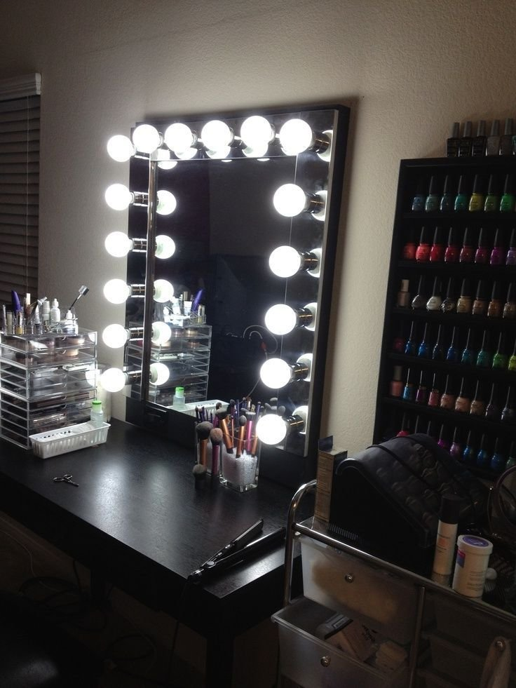 Best Vanity Makeup Mirror With Lights Home Pinterest With Pictures