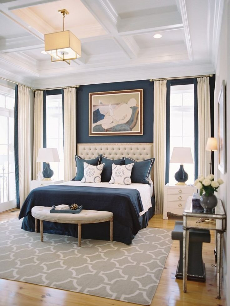 Best 25 Navy Blue Bedrooms Ideas On Pinterest With Pictures