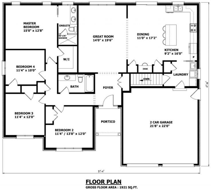 Best 1000 Ideas About Bungalow Floor Plans On Pinterest With Pictures