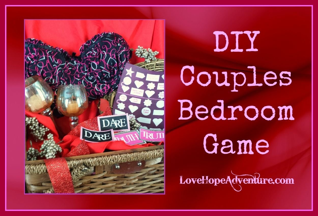 Best Free Printables To Make Your Own Diy Couples Bedroom Game With Pictures