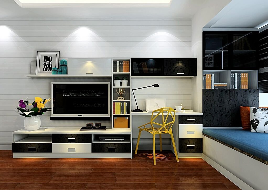 Best Tv Cabinet And Computer Desk Combination For Bedroom Jpg With Pictures