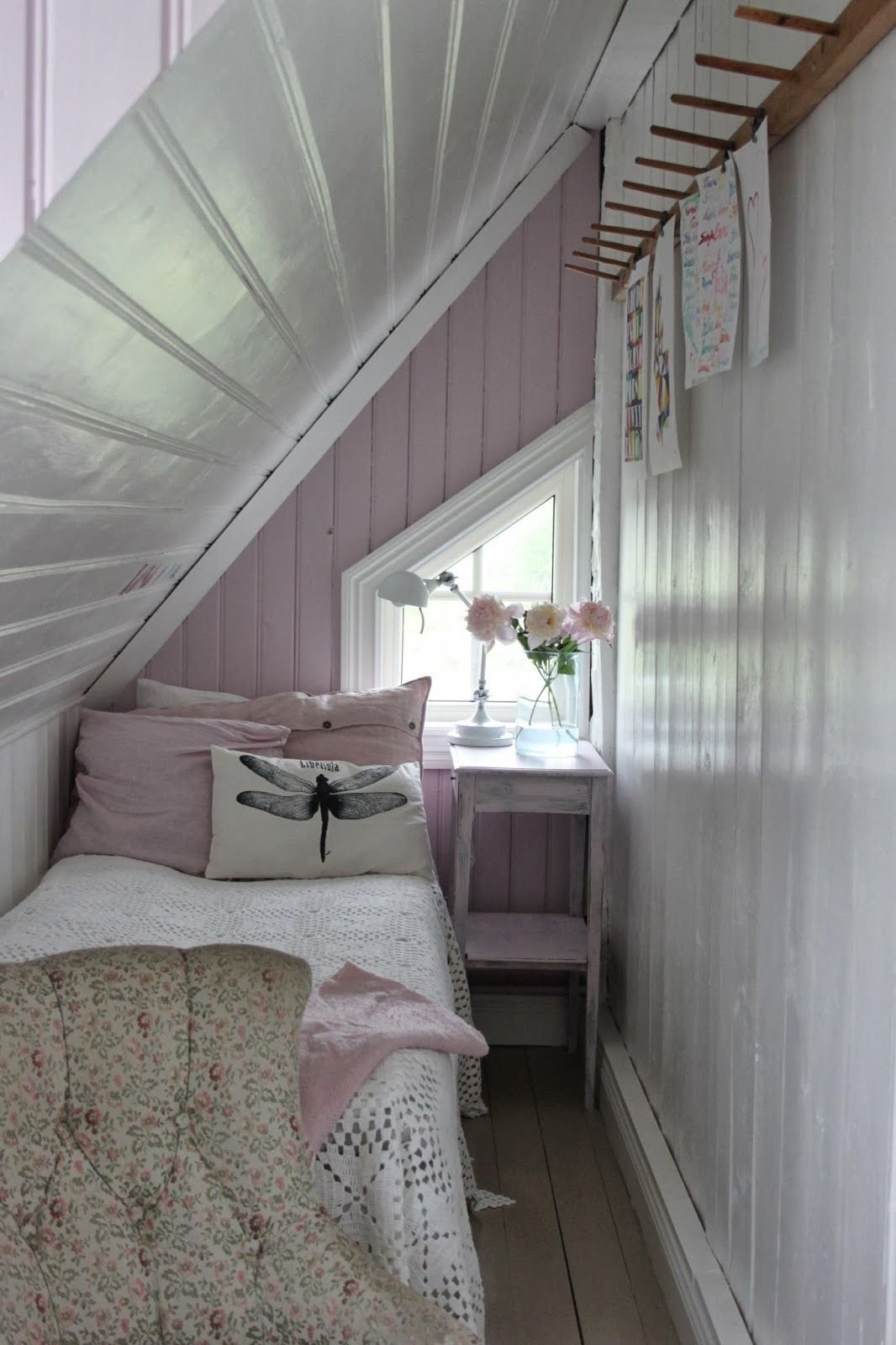 Best Small Attic Bedroom What Grandma Would Have Called The With Pictures