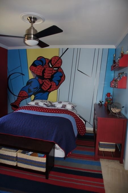 Best Pottery Barn Kids Spiderman Boys Bedroom Kids Rooms Pinterest Spiderman Pottery And Barn With Pictures