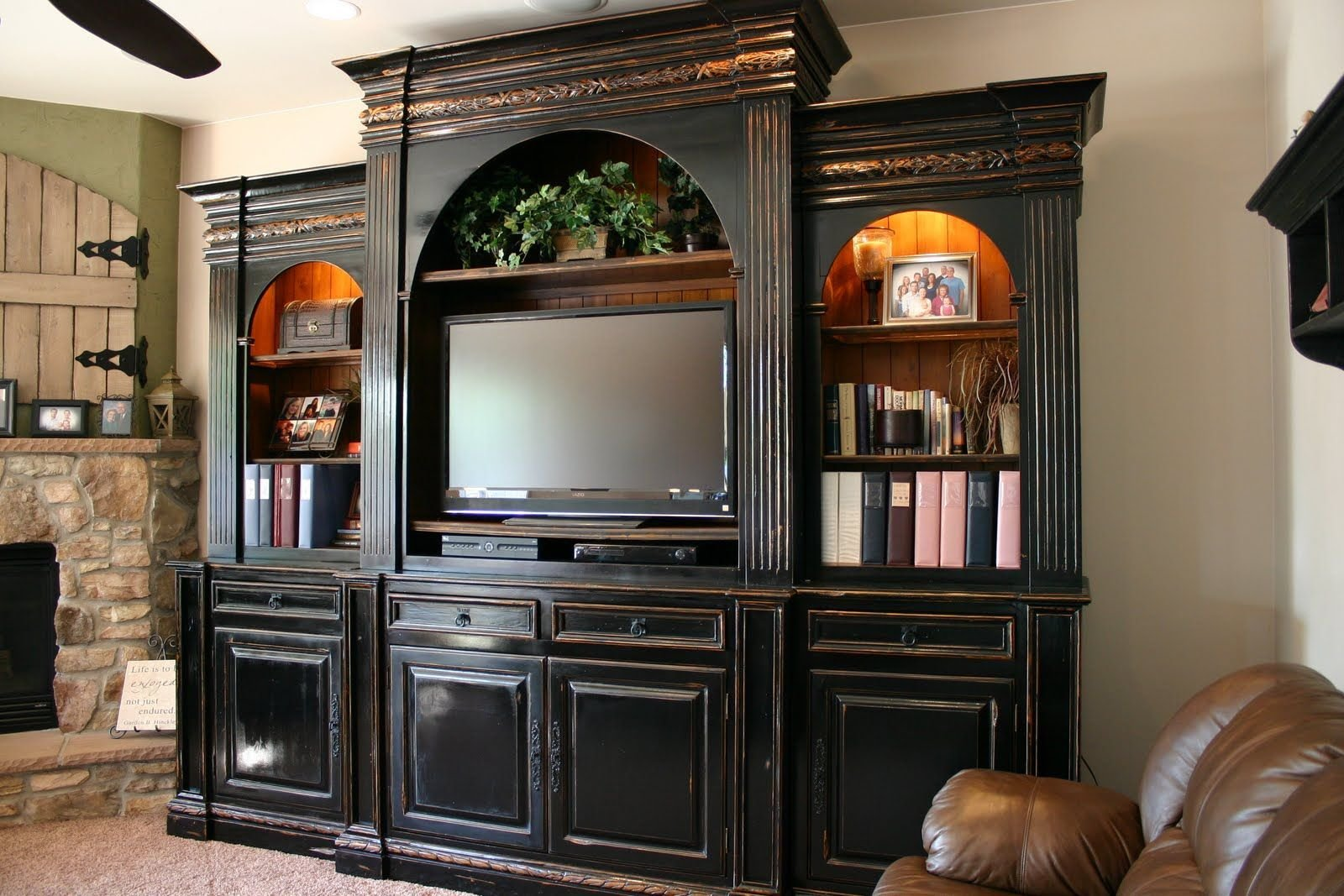 Best Entertainment Centers Entertainment Center With Pictures