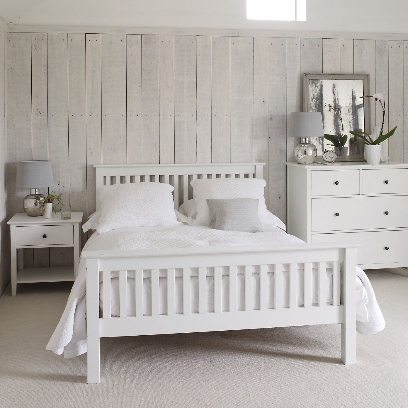 Best 25 White Wooden Bed Ideas On Pinterest Loft Bed With Pictures