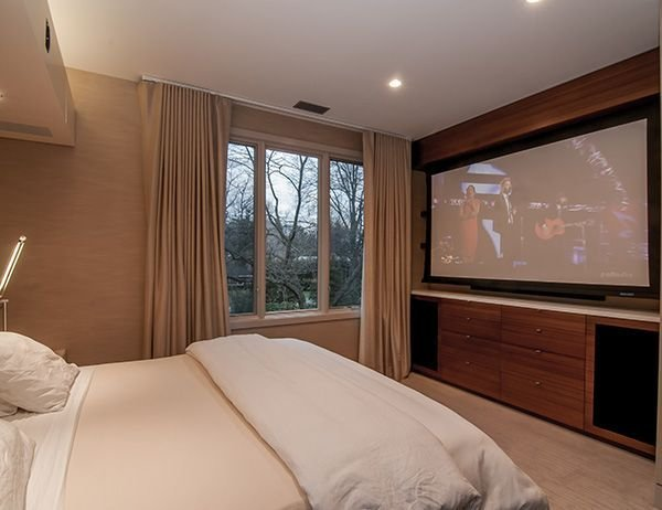 Best Bedroom Projection Screen Interior Pinterest With Pictures