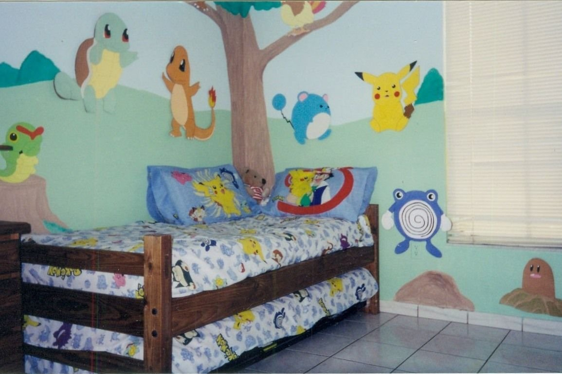 Best Pokemon Room O O Lucky Kid Pokemon Misc ♪♪ Pinterest Love The Murals And I Love With Pictures