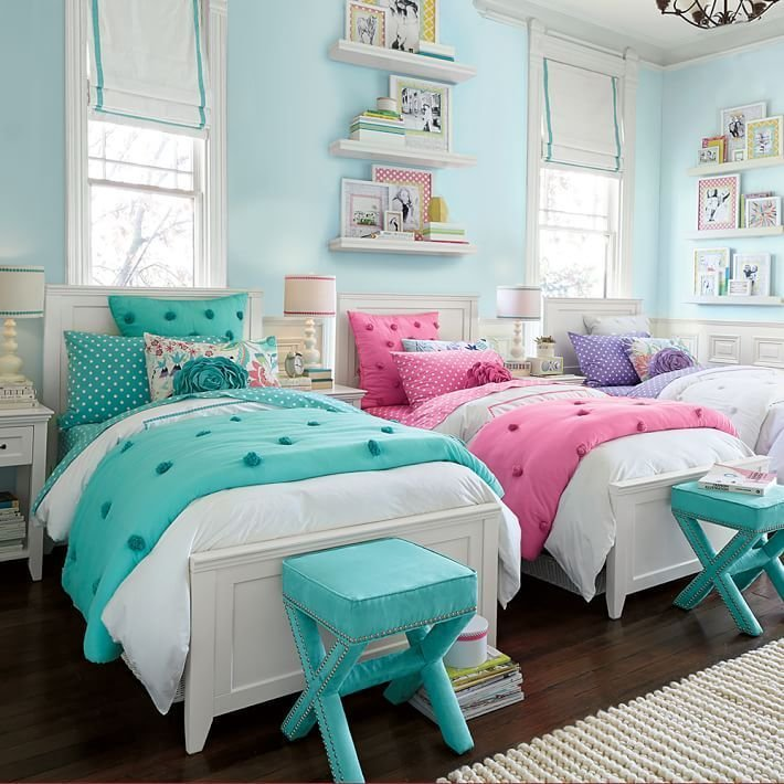 Best Cute Girls Room Cute Twin Bedrooms Pinterest Room With Pictures