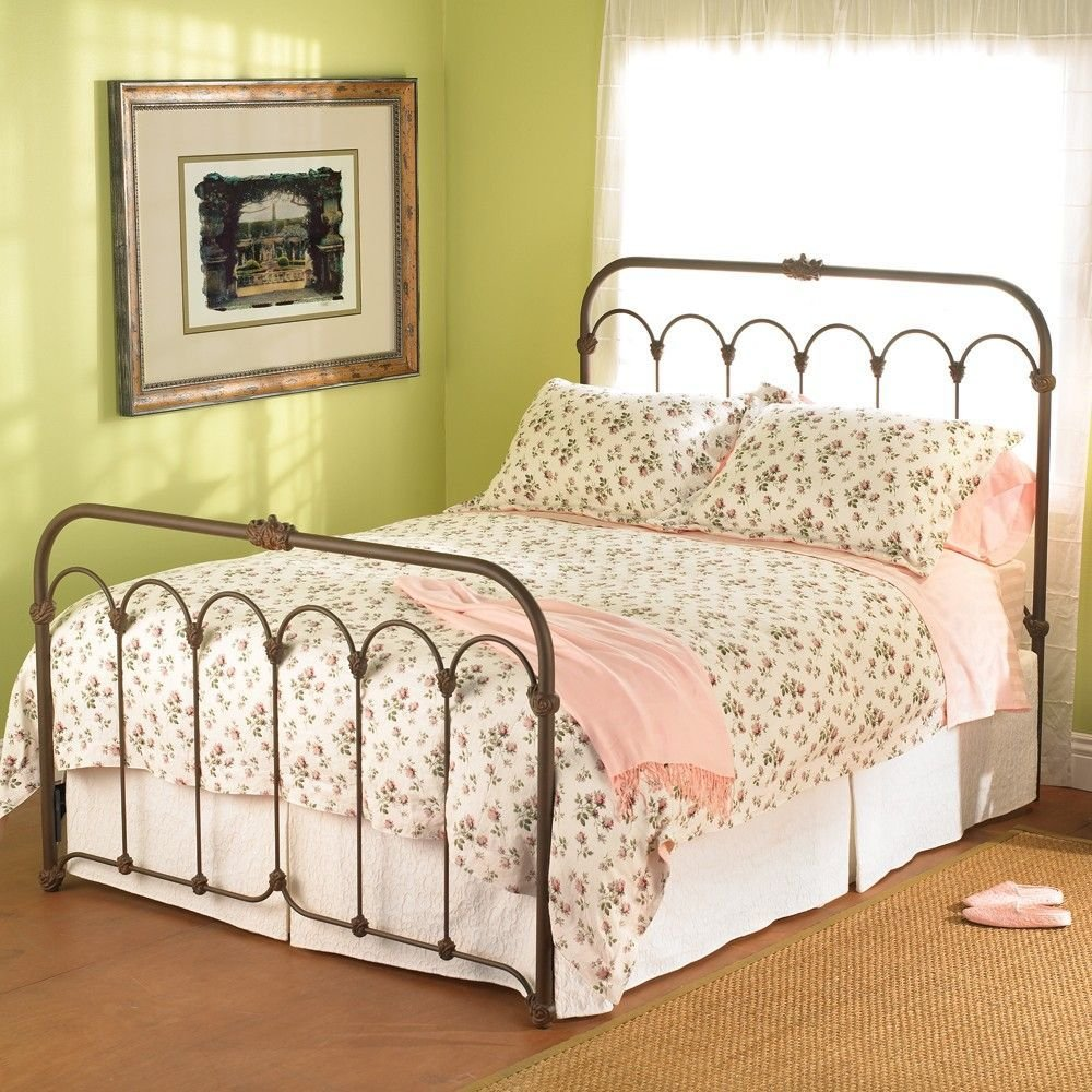 Best Hillsboro Iron Bed By Wesley Allen Aged Rust Finish Love This For Our Master Headboard Only With Pictures